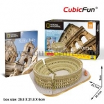 The Colosseum Size 34.3*25.7*8.9 cm Total 131 pcs.