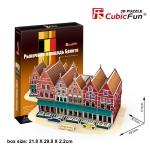 Bruges Markt บรูจส์ Size 23.5*32.5*17.5 Total 45 pcs.