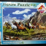 จิ๊กซอร์ 500ชิ้น Jigsaw Puzzle 500 Pieces Size 53*38 cm. Made in Thailand