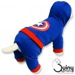 ชุดสุนัข กางกาง กัปตันอเมริกา