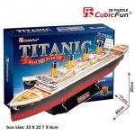 Titanic Large Size 80*20*11 cm. Total 113 pcs. อาร์เอ็มเอส ไททานิก (RMS Titanic) เป็นเรือโดยสารซึ่งจมลงสู่ก้นมหาสมุทรแอตแลนติก