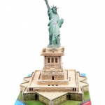 เทพี The Statu of liberty Building Super 3D puzzle DIY for Education โมเดล 3 มิติ