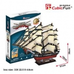 USS Constitution Ship Total 193 Pieces Model Size 51*18*38 cm.