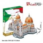 Cattedrale Di Maria Del Fiore เมืองฟลอเรนซ์ (Florence) Size 26.5*40*25 cm Total 123 pcs.