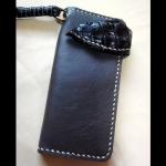 กระเป๋าหนังอินดี้ทรงยาว (Handmade)