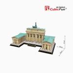 The Brandenburg Gate ประตูบรันเดนบูร์ก ประเทศเยอรมัน 150 pieces Size 23*21*40 cm.