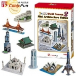 CubicFun Mini Architecture Series 2 World Famous 3D ครบชุด เพียง249บาท