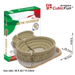 Cubic Fun 3D Puzzle Colosseum CubicFun 84 Pieces จิ๊กซอว์กระดาษ 3 มิติ