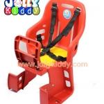 C10161 เก้าอี้นั่งเด็กสำหรับติดตั้งซ้อนท้ายที่นั่งหลังรถจักยาน สีแดง