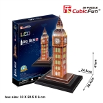 Big Ben (U.K) บิ๊กเบน Size 24.8*20.4*41 cm Total 28 pcs.
