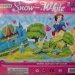 Snow White Pink โมเดล 3 มิติ Castle