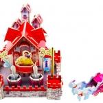 Snowhite Castle House Puzzle โมเดลตัวต่อกระดาษโฟม จิ๊กซอร์ 3มิติ MODEL 3D PUZZLE