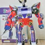 Robot หุ่นยนต์ โมเดล 3มิติ ชุดตัวต่อกระดาษโฟม