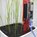 Smart Farm Sensors : Soil + Temperature + Humidity with WiFi-ESP8266-12E NodeMCU V1.0 Microcontroller