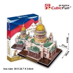 Saint isaac's cathedral อาสนวิหารนักบุญไอแซค Size 30*27*26 cm Total 105 pcs.