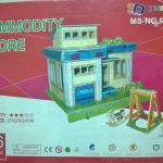 Commodity Shop โมเดล 3 มิติ 3D Puzzle Model