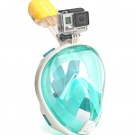 Easy Breath snorkeling mask - Size L/XL - [ เขียว ] (Sea Travel)