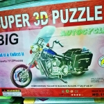 Big Autocycle Dimensions 74*13.5*23.5 cm. Build it & Collect it 8Sheet/113Pieces