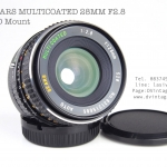 SEARS MULTICOATED 28MM F2.8 FD Mount