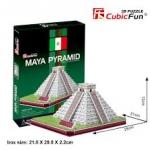Chichen Itxa (Mexico) ชีเชนอิตซา CubicFun 3D Puzzle Total 48 pcs Size 28*21*12 cm