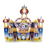 3D Puzzle Royal Castle Creative Assemble Jigsaw For Kids Pretend Play Set (45 Pieces) ตัวต่อกระดาษโฟม โมเดล 3มิติ จิ๊กซอร์ 3มิติ