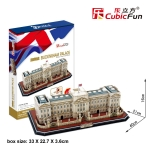 Buckingham Place พระราชวังบักกิงแฮม Size 40*21*16 cm Total 72 pcs.