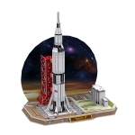 Saturn V CubicFun 3D Puzzle 68 Pieces