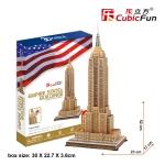 Empire State Building CubicFun MC048h 3D Puzzle 55 Pieces จิ๊กซอว์กระดาษ 3 มิติ