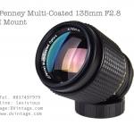 JC Penney Multi-Coated 135mm F2.8 OM Mount