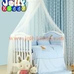 B10139(WD2) เตียงนอนไม้สีขาวครบเซ็ท