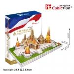 Modelวัดไทย 3มิติ วัดพระศรีรัตนศาสดาราม(Wat Phra Kaew) วัดพระแก้ว 53.5x28x22.5 ซม. Total 152pcs.
