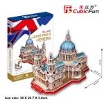 St. Pual อาสนวิหารนักบุญเปาโล Size 22.5*40.5*27 cm Total 107 pcs.