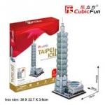 TAIPEI 101 CubicFun 3D Puzzle Model เป็นสื่อการเรียนการสอน