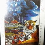 Jigsaw 500ชิ้น ภาพรูปเสือ