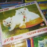 Jigsaw Puzzle 500 Pieces Cat ภาพแมวเหมียว น่ารัก