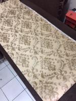 wallpaper ติดผนัง ลายหลุยส์ สีน้ำตาลทอง