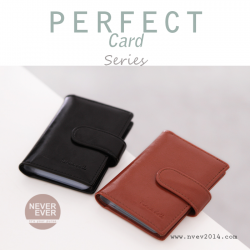กระเป๋าใส่บัตร รุ่น PERFECT Card สีดำ
