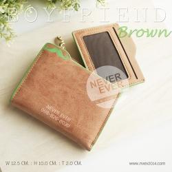 กระเป๋าสตางค์ผู้หญิง BOYFRIEND-Brown