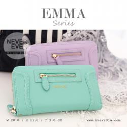 กระเป๋าสตางค์ผู้หญิง รุ่น EMMA สีเขียว Green