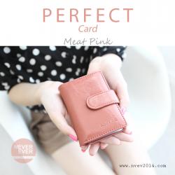 กระเป๋าใส่บัตร รุ่น PERFECT Card สีชมพู