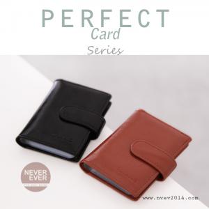 กระเป๋าใส่บัตร รุ่น PERFECT Card สีน้ำตาล