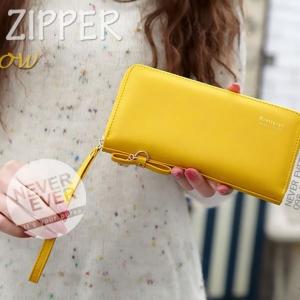 กระเป๋าสตางค์ผู้หญิง รุ่น THE ZIPPER-Yellow สีเหลือง