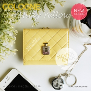 กระเป๋าสตางค์ผู้หญิง COLOGNE-Milky Yellow