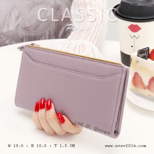 กระเป๋าสตางค์ผู้หญิง รุ่น CLASSIC สีม่วง