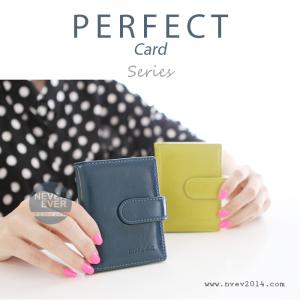 กระเป๋าใส่บัตร รุ่น PERFECT Card สีน้ำเงินเข้ม