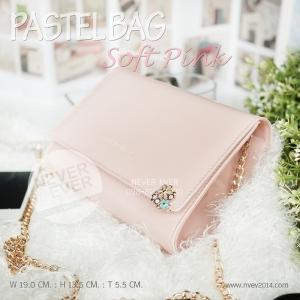 กระเป๋าสะพายข้าง ผู้หญิง PASTEL BAG-Soft Pink