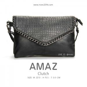 กระเป๋าสะพายข้าง กระเป๋าคลัชท์ ผู้หญิง รุ่น AMAZ Clutch