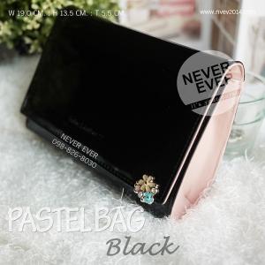 กระเป๋าสะพายข้าง PASTEL BAG-Black