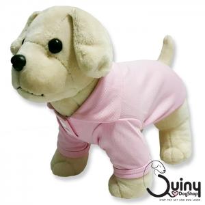 เสื้อสุนัข POLO สีชมพู
