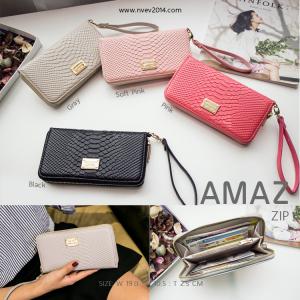 กระเป๋าสตางค์ผู้หญิง รุ่น AMAZ ZIP